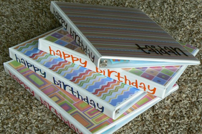 birthdaybinder