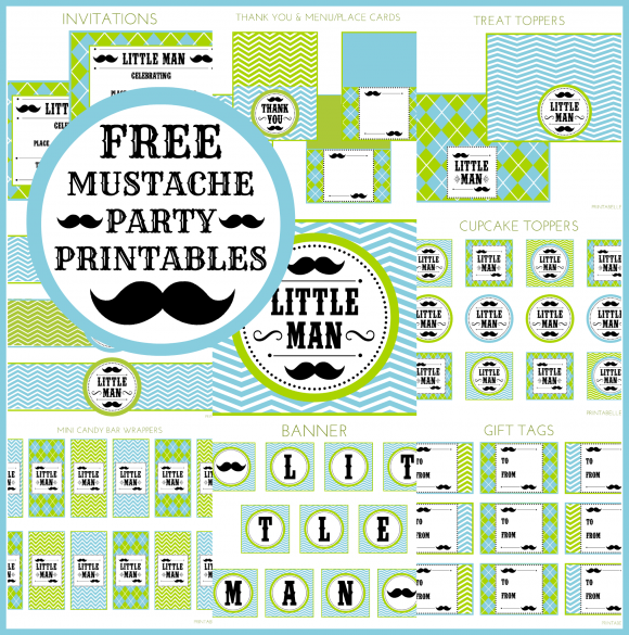 FreeMustacheBashPrintables
