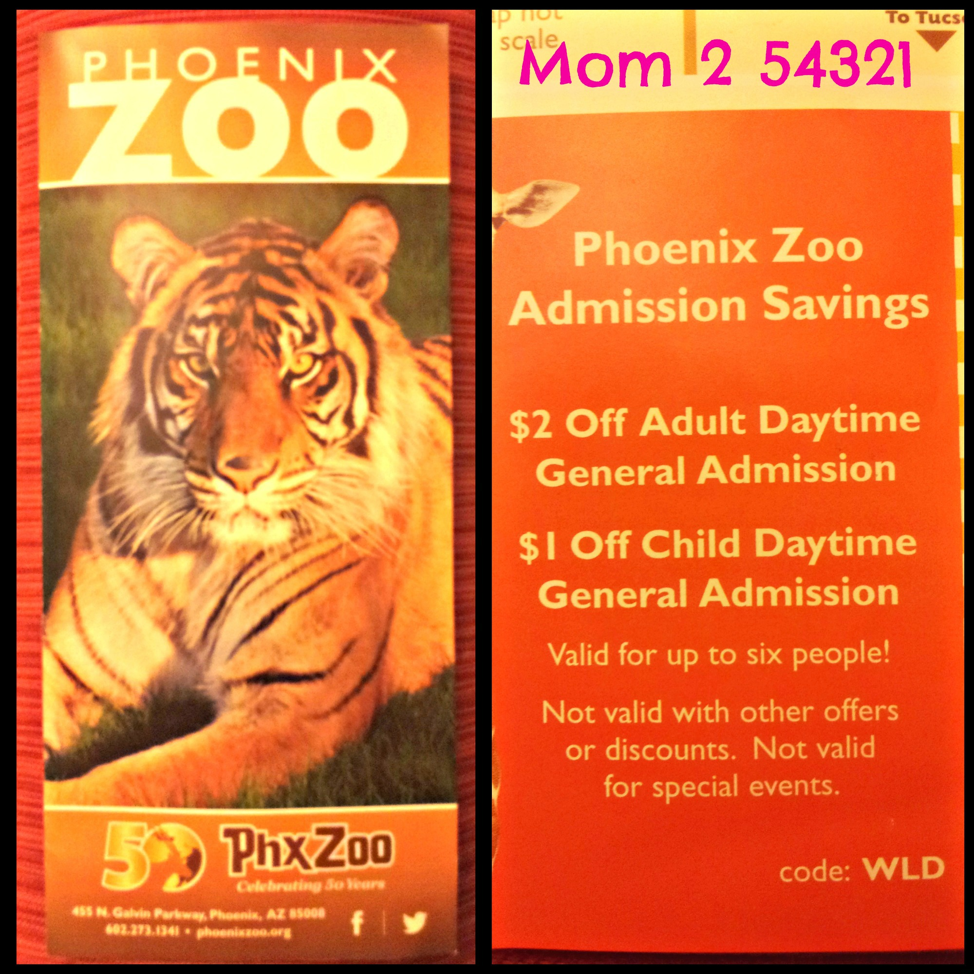 General Admission Tickets are good for a single admission to the zoo. * *Dates and Hours are subject to change without notice. Prices below reflect $2 online discount applied.