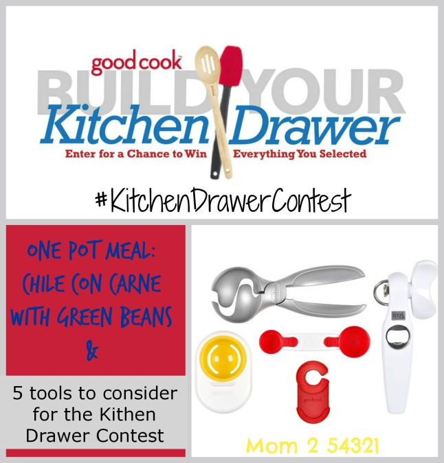 5 Great Good Cook Tools to check out before the #KitchenDrawerContest + A One Pot Recipe