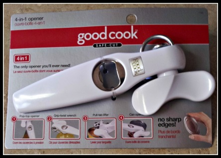 Good Cook 4 in 1 Can Opener