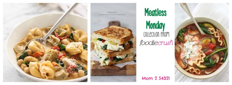 Meatless Mondat collection from foodiecrush