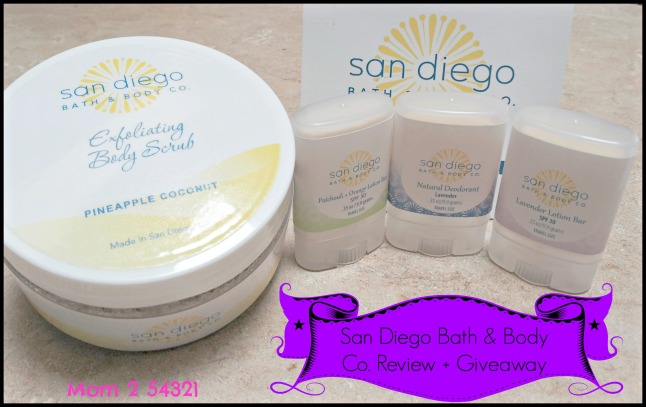 San Diego Bath & Body Co. Review + Giveaway