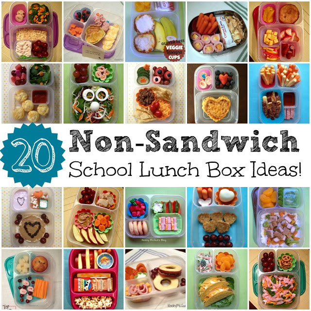 Easy Non Sandwich School Lunch Box Ideas