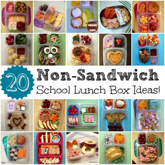 easy non-sandwich school lunch box ideas