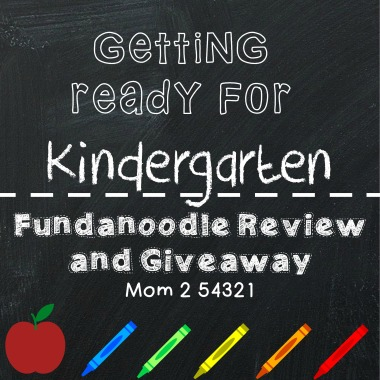 Getting Ready for Kindergarten Fundanoodle Review and Giveaway