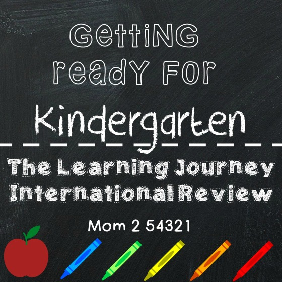 Getting Ready for Kindergarten The Learning Journey International