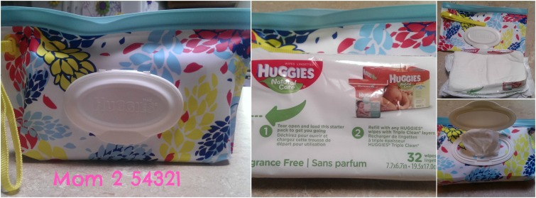 Huggies Clutch'n'Clean Blog Review