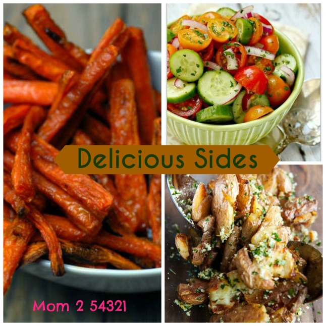 Petite Patties and Delicous Sides 1