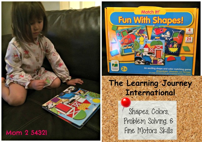 The Learning Journey International Fun with Shapes