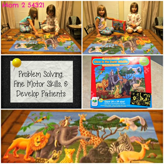 The Learning Journey International Glow in the Dark Puzzle
