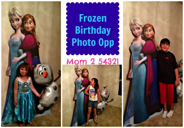 Frozen Birthday Photo Opp
