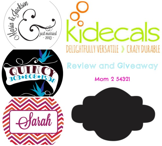 KidecalsReview&Giveaway