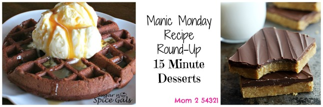 Manic Monday Recipe Round-Up 15 Desserts