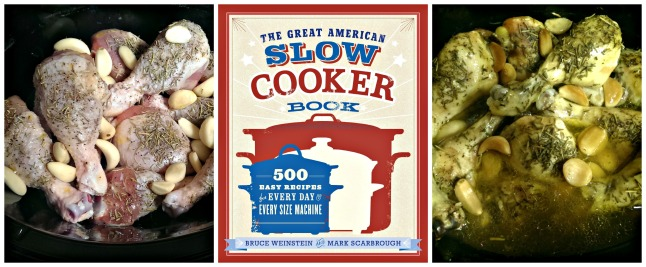The Great American Slow Cooker Book Garlic-Roasted Chicken Drumsticks