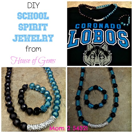 DIY School Spirit Jewelry from House of Gems
