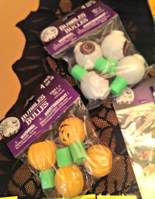 Halloween Round-Up from Dollar Tree Bubbles