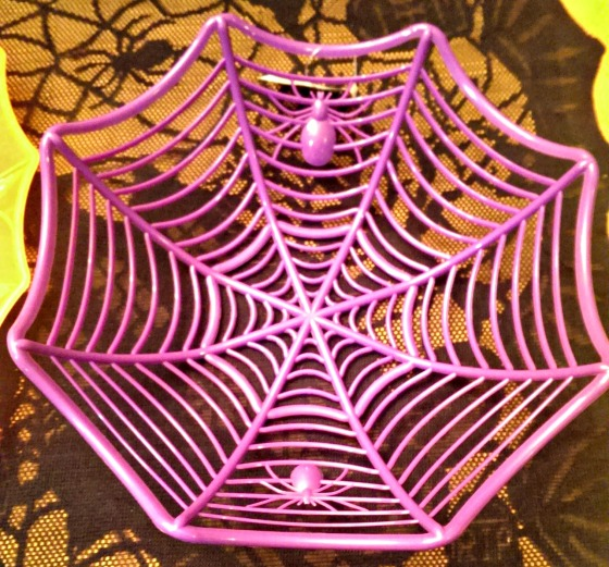 Halloween Round-Up from Dollar Tree Spider Web Bowl
