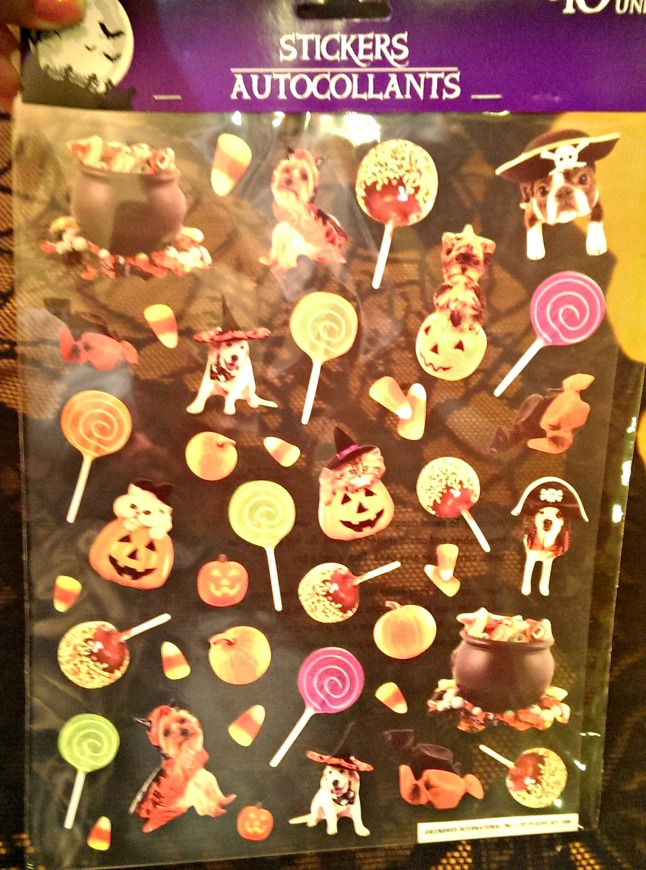 Halloween Round-Up from Dollar Tree Stickers 1