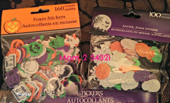Halloween Round-Up from Dollar Tree Stickers