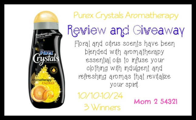 Purex Crystals Aromatherapy Review