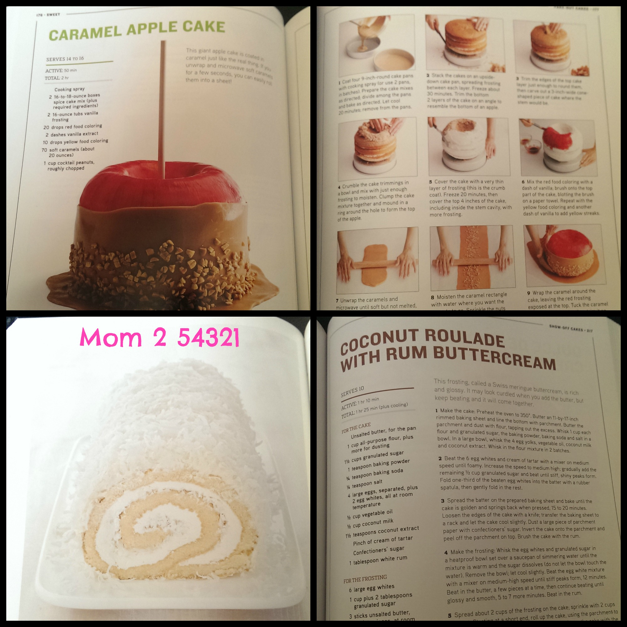 Food network a mom 2 54321 sweet our best cupcakes cookies candy and more recipes forumfinder Images