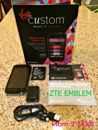 ZTE EMBLEM Virgin Mobile Review
