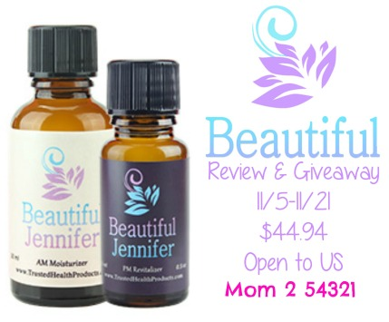 Beautiful You AM PM Moisturizer Review and Giveaway