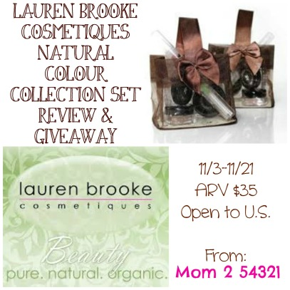 lauren brooke cosmetiques review and giveaway