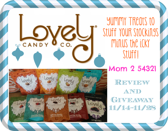 Lovely Candy Company Review and Giveaway