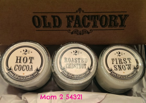 Old Factory Candles Review and Giveaway