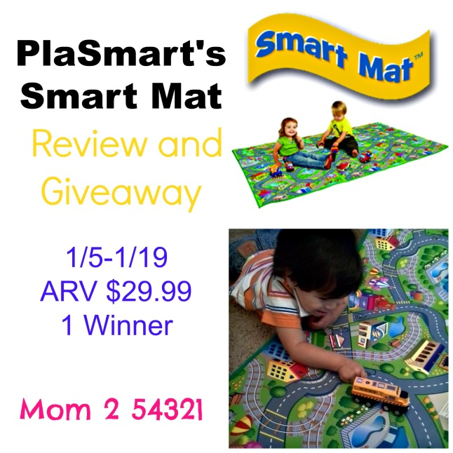 PlaSmart Smart Mat Review and Giveaway
