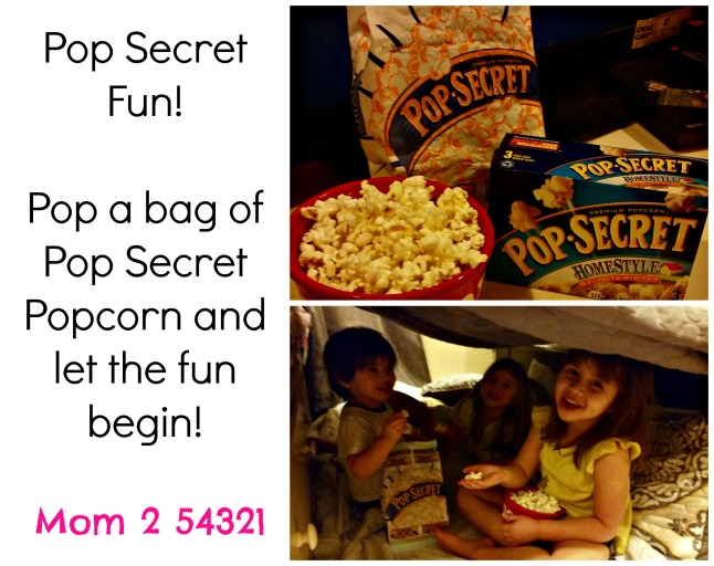 Pop Secret #PopSecretFort